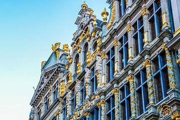 Grote Markt in Brussel van Scarlett van Kakerken