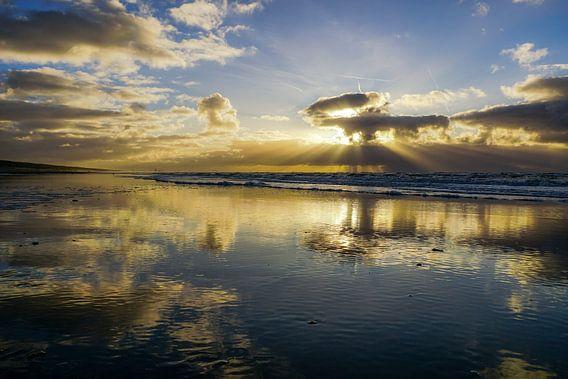 Strand Katwijk van Dirk van Egmond