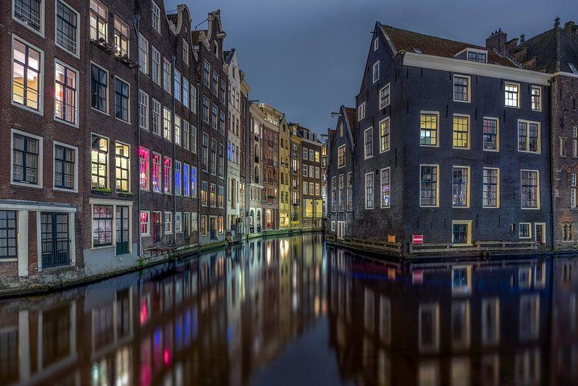 Amsterdam roze buurt van Dennisart Fotografie