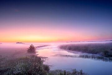 Essche Stroom avant le lever du soleil sur Ruud Peters