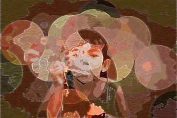 Bubbles van Miriam Duda