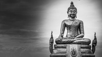 Buddha Beeld, Phuket van Raymond Gerritsen