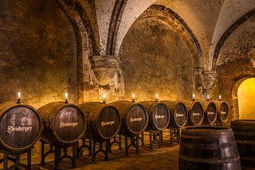 Historische wijnkelder van het cisterciënzerklooster van Eberach van Christian Müringer
