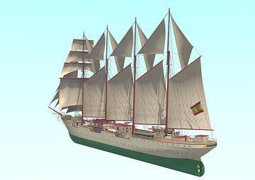 Juan Sebastián de Elcano van Simons Ships