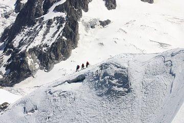 Bergbeklimmers op de Mont Blanc  von M Ravensbergen