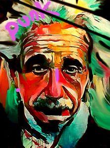 Albert Einstein PUNK Classic Pop Art PUR