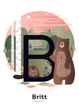 Name Poster Britt von Hannahland .