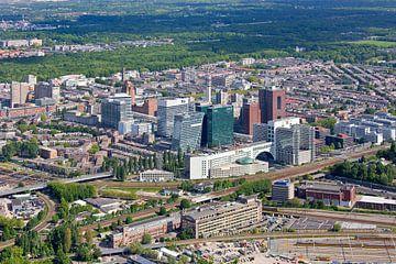 Luchtfoto Bezuidenhout Den Haag sur Anton de Zeeuw