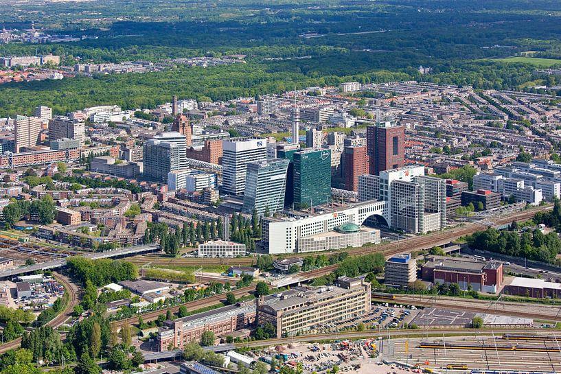 Luchtfoto Bezuidenhout Den Haag van Anton de Zeeuw