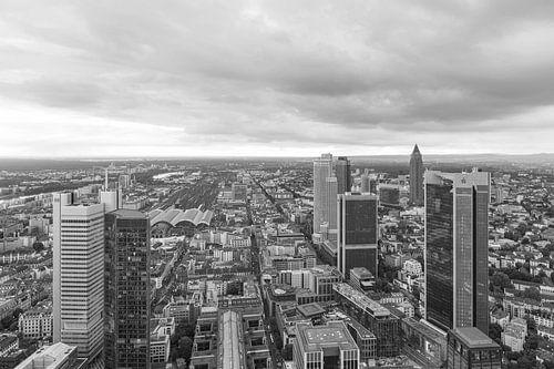 Het stadscentrum van Frankfurt in Duitsland