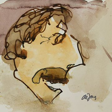 Paul, portret, avatar von Leo de Jong