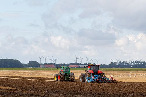 Landwirte und Land