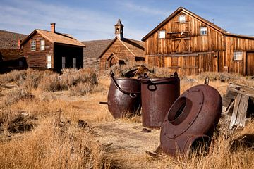 Geisterstadt Bodie, Kalifornien von Peter Schickert