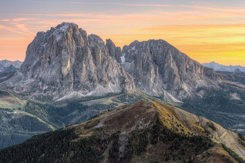 Langkofelgruppe Südtirol von Michael Valjak