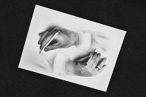 Escher inspiratie van Elianne van Turennout