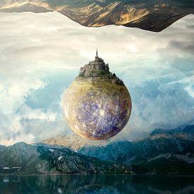 Een wereld tussen werelden  van Amadeo Truzzu
