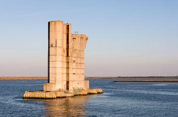 pijler van stormvloedkering van Compuinfoto .