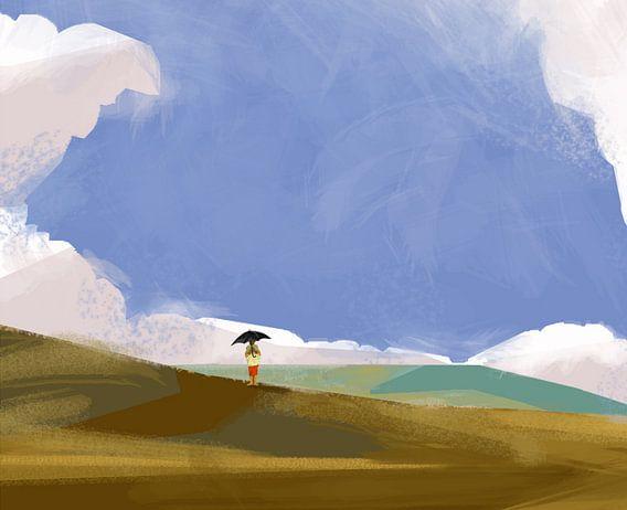 Het regent zonnestralen