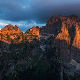 Montenegro zonsondergang van Rick Kloekke