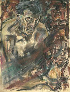 Mann mit dunklem Haar, Arno Nadel von Atelier Liesjes