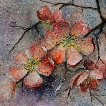 Kweepeer bloesem van Christine Nöhmeier