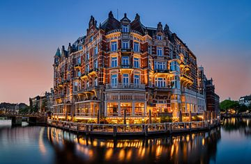 Hotel de L'Europe in Amsterdam van Adelheid Smitt