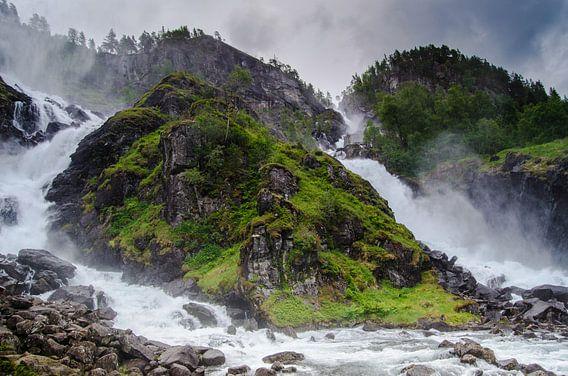Låtefossen - Noorwegen