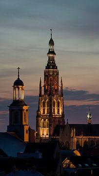 Breda Skyline Grote Kerk von I Love Breda