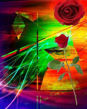 Eine Rose für die Liebe van Gertrud Scheffler