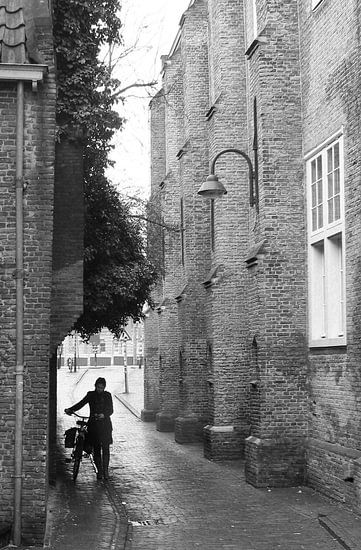 Barbarasteeg in Delft van Lydia van Rijt