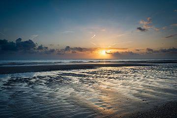 Rockanje strand zonsondergang