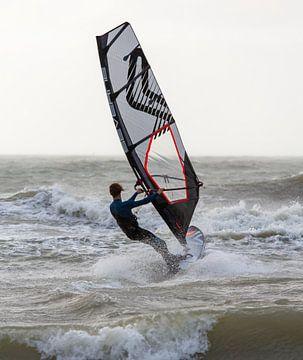 Windsurfer Zeeland von MSP Canvas