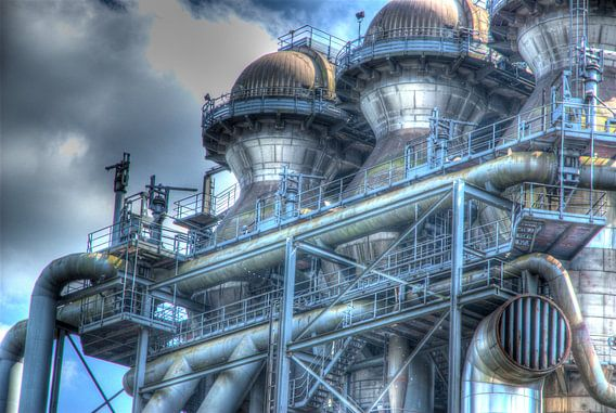 Staalfabriek Duisburg van Cor Visser