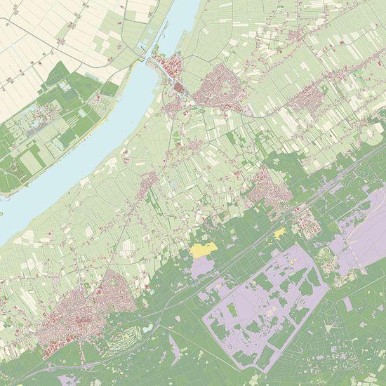 Kaart vanElburg