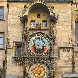 Astronomische klok in Praag van Michael Valjak