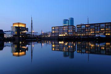 De Veilinghaven in Parkhaven in Utrecht sur Donker Utrecht