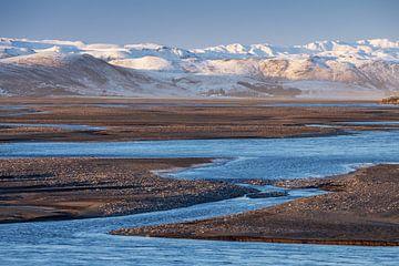 Vatnajokull gletsjer -  IJsland van Jurjen Veerman