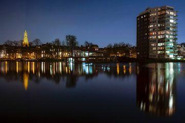 Zuiderhaven in Groningen van ard bodewes