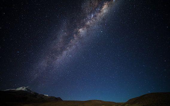 Volcan fumant de la Voie Lactée