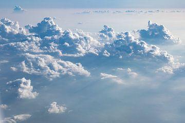 Wolken Landschaft von Menno van der Haven