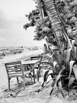 Sanur Beach Bali, Indonesië van Raymond Wijngaard