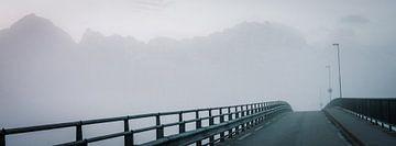Brücke im Nebel von Jelle Dobma