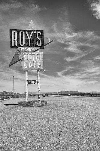 Roy's Motel aan de Route 66 van