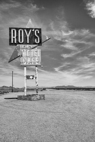 Roy's Motel aan de Route 66 van Loek van de Loo