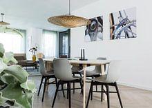 Kundenfoto: Bianchi Kunst 2 - VtWonen von Leon van Bon, auf hd metal