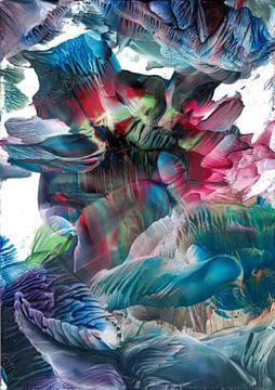 Kleur explosie van Bethina de Reus