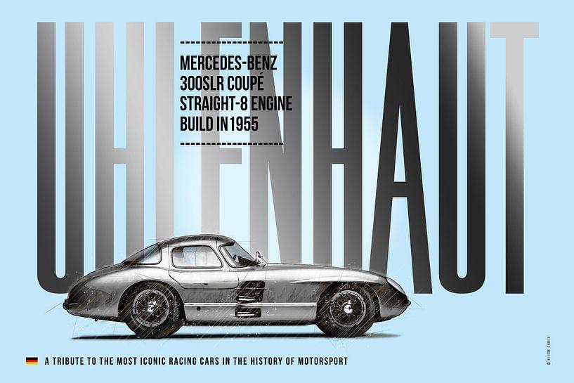 Mercedes Uhlenhaut Coupe, 300SLR von Theodor Decker