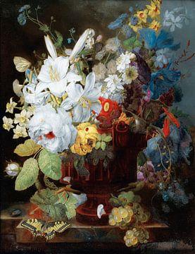 Stillleben mit Blumen, George Frederik Ziesel
