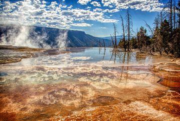 Yellowstone National Park van Marcel Wagenaar