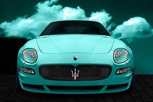 Maserati GranSport in cyaan van aRi F. Huber
